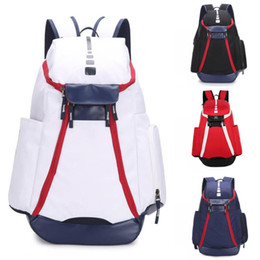 Quality college backpacks online shopping - Brand New National Team Olympic Designer Backpack Large Capacity School Bag Travel Bag High Quality Basketball Backpacks