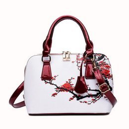 designer handbags wholesalers Canada - WENYUJH 2019 Fashion Designer Bags Printed Bags For Women Women Shopper Bag Shell Floral Shoulder Luxury Handbags