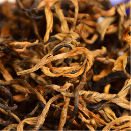 yunnan black tea 2019 - Hot sales 400 Years Ancient Old Tree Yunnan Dian Hong Golden Buds Brick Black Tea 250g cheap yunnan black tea