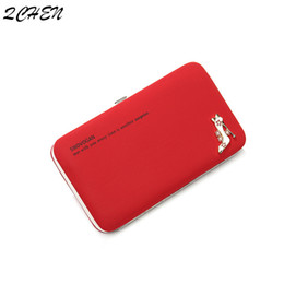 $enCountryForm.capitalKeyWord Australia - Women's wallet purse high heel women's brand name business card holder mobile phone bag leather clutch bag female lunch box 533