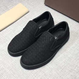 italian canvas shoes 2019 - 2019 best-selling Italian luxury designer takes the world by the wayside by weaving driving shoes for men discount itali