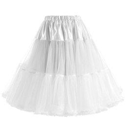 $enCountryForm.capitalKeyWord Australia - 2018 Ruffle A Line 2 Hoops 2 Layers Wedding Petticoats Jupon Mariage Wedding Accessories Crinoline