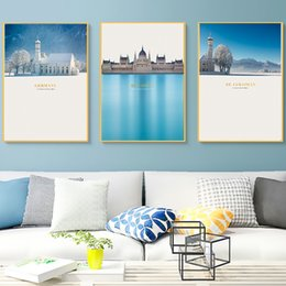 $enCountryForm.capitalKeyWord Australia - Hungarian Conference Building Church Alps Nordic Canvas Paintings Vintage Kraft Posters Coated Wall Stickers Decor Family Gift