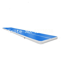GuanGzhou factories online shopping - Free Pump x1x0 m Guangzhou Factory Air Jump Tumble Track Inflatable Air Mat For Gymnastics Air Track