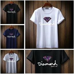 $enCountryForm.capitalKeyWord Australia - New Summer Cotton Mens T Shirts Fashion Short-sleeve Printed Diamond Supply Co Male Tops Tees Skate Brand Hip Hop Sport Clothes