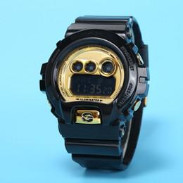 Sport Water Quartz UK - New Relogio men's military watch, men's sports watch, LED chronograph, electronic watch, full-function work light, waterproof 200cm, solar e