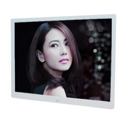 led digital photo frames Canada - 10 inch Screen LED Backlight HD 1024*600 Digital Photo Frame Electronic Album Picture Music Movie with Remote Control T200320