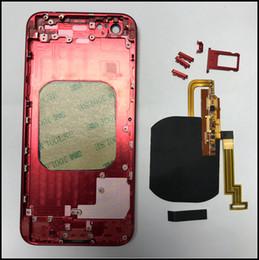 Ingrosso Crea il tuo iPhone 6G 6S 6P 6SP 7 7P Come iPhone 8 Custodia posteriore in vetro con Flex caricatore wireless incorporato