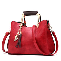 $enCountryForm.capitalKeyWord Australia - Winmax Factory Ladies Hobos Handbags Women Vintage Tassel Casual Tote Shoulder Hand Bag Feminina Bolsa Crossbody Bags for Girls