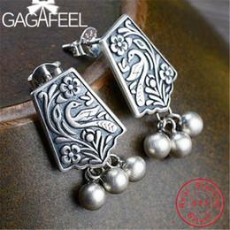 $enCountryForm.capitalKeyWord Australia - Gagafeel Phoenix Totem Ethnic Studs 925 Sterling Silver Earrings Jewelry For Women Brincos Handmade Gifts J190702