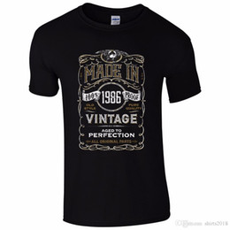 $enCountryForm.capitalKeyWord Canada - Made In 1986 T-Shirt Born 32Nd Year Birthday Age Present Vintage Funny Mens Gift Homme High Quality