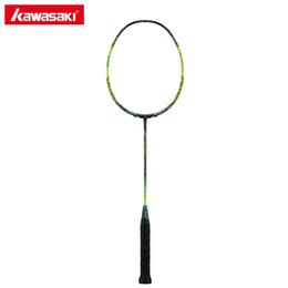 $enCountryForm.capitalKeyWord Australia - Original Kawasaki Spider 9900 II Badminton Rackets Graphite Fiber 3U Offensive Type Racket for Professional Player Racquet Gift