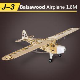 """$enCountryForm.capitalKeyWord Australia - RC Plane Piper Cub J3 1.8M plane Model 70"""" Balsa wood Aircraft Aeromodellin 4CH Electric Powered Remote Control Airplane Toy"""