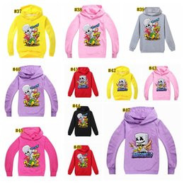 89090ae9 Marshmello hoodie Clothes Boys Tops Marshmello Long Sleeve Hooded T Shirt  DJ Music Children T-Shirts Summer Tops Tees MMA1546 50pcs