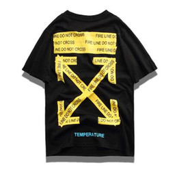 635fec10 2019 monogram arrow OFF T-shirt men's and women's short-sleeved t-shirts  hip-hop streetwear brand summer casual cotton printed T-shirt tops