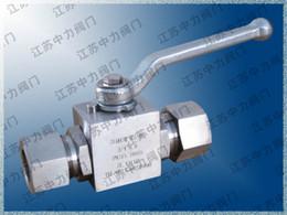 $enCountryForm.capitalKeyWord Australia - PN32.0MPa stainless steel high pressure card sleeve ball valve
