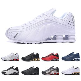 $enCountryForm.capitalKeyWord Australia - 2019 hot Deliver RZ 301 Shox Men Women Running Shoes Fashion Deep Blue White Black Red DELIVER OZ NZ designer Sports Sneakers 40-46