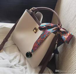 Retail Hand Bags Australia - 2017 New Women Bags Fashion Bucket Bag Designer Handbag Casual Scarf hand Shoulder Messenger Bag Wholesale retail Free shipping