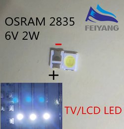 Led backLight tv 3528 online shopping - 1000pcs OSRAM LED Backlight High Power LED W V LM Cool white LCD Backlight for TV TV Application