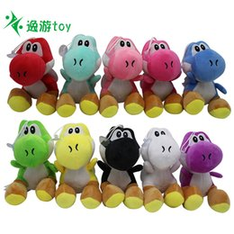 $enCountryForm.capitalKeyWord Australia - Yoshi dinosaur doll 10 plush toy pendants