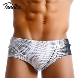 pocket penis Australia - Taddlee Brand Sexy Men Swimwear Swimming Briefs Gay Penis Pouch WJ Pad Pocket Inside Mens Swimsuits Swim Surfing Board Shorts