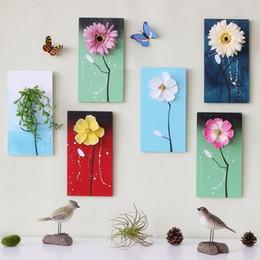 $enCountryForm.capitalKeyWord Australia - Artificial Flower Creative 3D Wall Hanging Pictures Art Decor Fake Plant Nursery Home Hotel Restaurant Farmhouse Nordic Decor