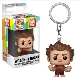 good quality toys 2019 - Nice gift Funko Pocket POP Keychain - Ralph Breaks the Internet Vinyl Figure Keyring with Box Toy Gift Good Quality chea