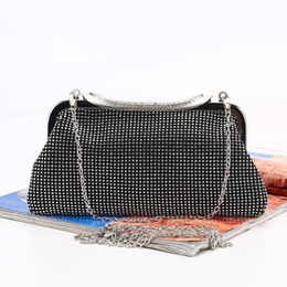 $enCountryForm.capitalKeyWord Australia - diamond evening dinner bag handmade rhinestone evening bag lady banquet clutch bag