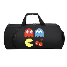 Wholesale Game Pac Man Travel luggage Bag teenagers Multifunctional Large Capacity Strap Duffel Shoulder bag Men Women luggage Package
