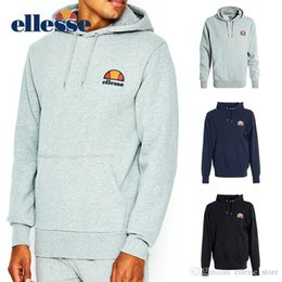 Originals tracksuit online shopping - Ellesse Mens Designer Tracksuits Black Grey Navy Original Men Fashion Set Tracksuit Autumn Long Sleeve Sweatshirts S XL