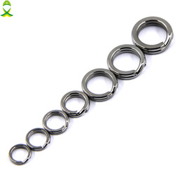 $enCountryForm.capitalKeyWord Australia - Cheap Tools JSM 200 pcs lot stainless steel solid split ring jigging lure accessories for fishing hook tackle