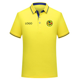 soccer polo Canada - 2019 LIGA MX club america Polo Shirt Football shirt soccer jerseys men 2019 2020 club america Men's Soccer Polo Shirt Football Shirts
