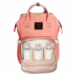 Discount diaper camp - Land 15colors Mommy Backpacks Nappies Bags Mother Maternity Diaper Backpack Large Volume Outdoor Travel Bags Organizer
