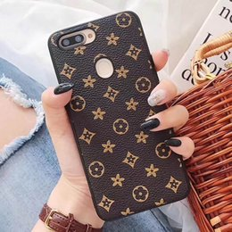 $enCountryForm.capitalKeyWord Australia - Vintage Printing Grid PU Leather Hard PC+TPU Phone Back Case Cover For iPhone XS Max XR X 8 7 6 6S Plus Samsung Galaxy S10 E S9 S8 Note 9
