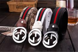 2019 Cintura fibbia di marca cinture di design cintura di lusso per cinture da uomo in vera pelle cinture da donna in Offerta