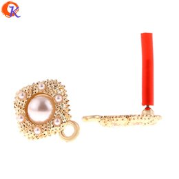 13mm pearl studs 2019 - Cordial Design 50Pcs 12*13MM Jewelry Accessories Earrings Stud Imitation Pearl Hand Made DIY Earring Making Earring Find