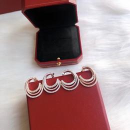 jewelry S925 sterling silver stud earrings couple earrings Etincelle de earrings simple for couples hot fashion on Sale