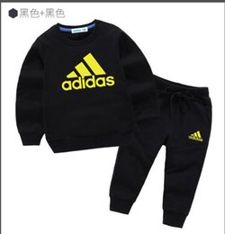 christmas clothes Australia - NEW good quality spring autumn baby boys clothing sets cartoon sweatshirts+pants suits child casual sports outfits fashion brand clothes 111