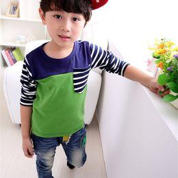 $enCountryForm.capitalKeyWord Australia - Fashion Baby Boy T-Shirt Autumn Long Sleeve New Kids Clothes Camisa Infantil Tops Tee Toddler Children T Shirts Clothing Enfant