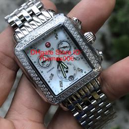 Mop diaMond online shopping - Luxury Watch Michele Signature DECO Diamonds MOP Shell Dial Diamond Mark Quartz Movement Watch Women s MWW06P000099 Lady Watches mm