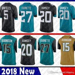 0be0a4aed 2018 New Limited Jacksonville 27 Leonard Fournette Jaguar Jersey 20 Jalen  Ramsey 5 Blake Bortles 15 Allen Robinson Football Jerseys