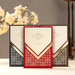 Wholesale Wedding invitations cards Engagement Invitations Cards Business Party Card Birthday Invitation Wedding Supplies new arrivals