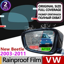 $enCountryForm.capitalKeyWord UK - for Volkswagen VW New Beetle 2003 - 2010 Full Cover Anti Fog Film Rearview Mirror Rainproof Anti-Fog Films Clean Car Accessories