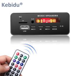 $enCountryForm.capitalKeyWord Australia - Universal Wireless Bluetooth 5.0 MP3 WMA Decoder Board Module DC 5V 12V USB SD TF AUX FM Call Recording Audio For Car DIY