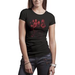 a961b812 Women t-shirts American heavy metal band Metallica Tee Cotton Casual  Fashion Shirt