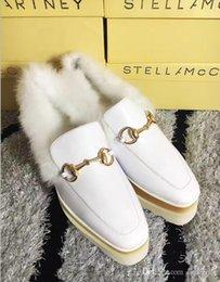 $enCountryForm.capitalKeyWord Australia - Stella Mccartney Shoes Genuine Leather Black Sole Real Rabbit Fur Low Top Stars Shoes