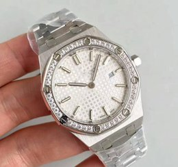 Luxury womens diamond watches online shopping - Watch For Ladys Gift MM Quartz Movement Diamonds Ring Stainless Steel Sapphire womens watches