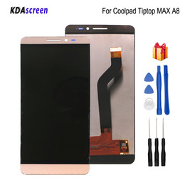 $enCountryForm.capitalKeyWord Australia - For coolpad Tiptop MAX A8 LCD Display Touch Screen Digitizer Phone Parts For Coolpad A8-531 A8-930 A8-831 Screen LCD Free Tools