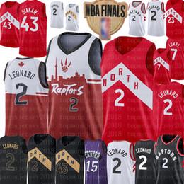 Discount mens basketball jerseys - 2 Kawhi Mens Leonard Jersey NCAA Pascal 43 Siakam Vince 15 Carter Fred 23 VanVleet 7 Lowry College Basketball Jerseys