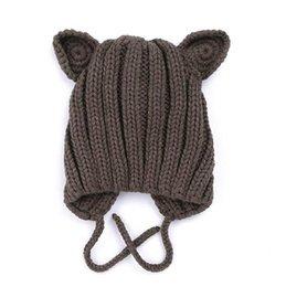 Ingrosso 2019 inverno nuovo cappello da bambino per bambini